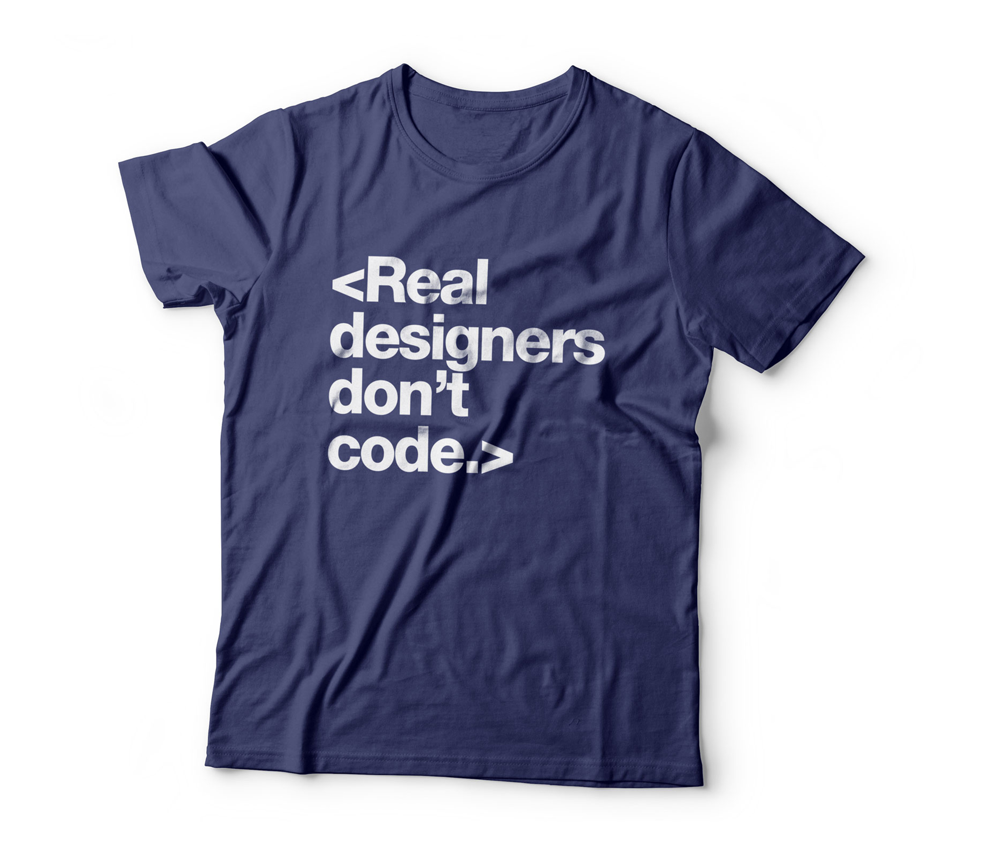 Real Designers don't Code.